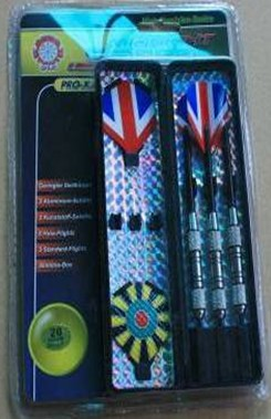 24g Nickel Silver Plated Brass Darts